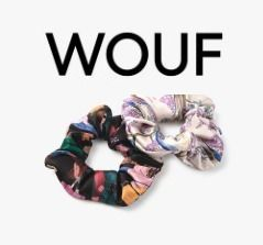 WOUF Scrunchy Casual Style Party Style Office Style Elegant Style