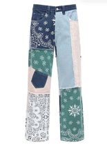 JADED LONDON More Jeans Printed Pants Denim Street Style Cotton Jeans 8