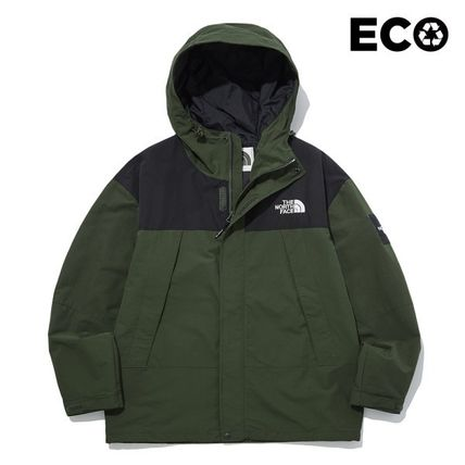 THE NORTH FACE Casual Style Unisex Street Style Logo Outerwear