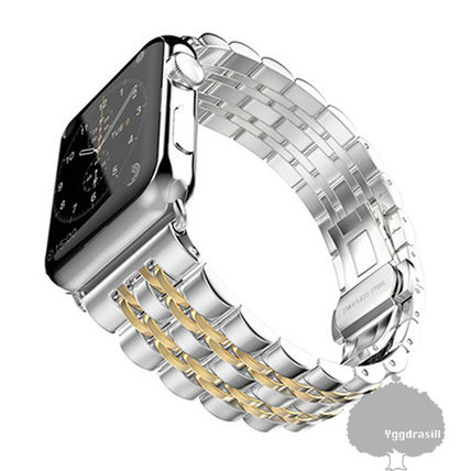 Unisex Street Style Smartwatch Apple Watch Belt