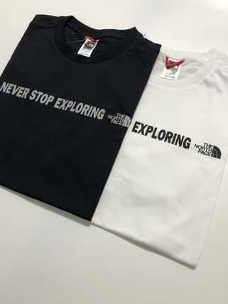 THE NORTH FACE More T-Shirts Street Style Logo Outdoor T-Shirts 2