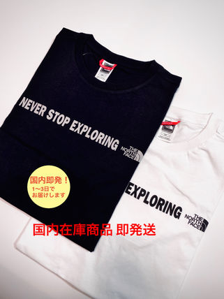 THE NORTH FACE More T-Shirts Street Style Logo Outdoor T-Shirts
