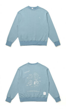 [LE2] Over-fit daily sweat shirt