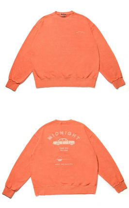 [LE2] Midnight pigment sweat shirt