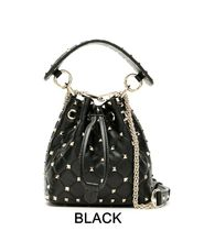 VALENTINO Casual Style Studded 2WAY 3WAY Chain Plain Leather