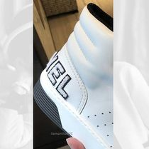 CHANEL SPORTS Street Style Plain Logo Sneakers