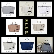 State of Escape Casual Style A4 2WAY Handmade Shoulder Bags