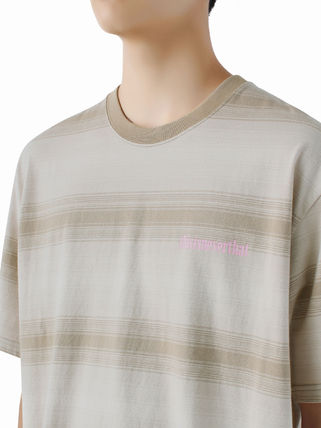 thisisneverthat More T-Shirts Unisex Street Style Collaboration Cotton Short Sleeves Logo 2