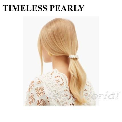 TIMELESS PEARLY Casual Style Elegant Style Hair Accessories