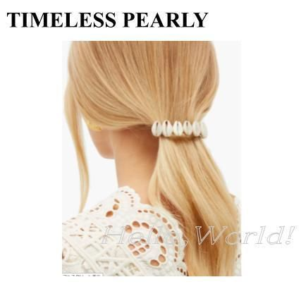 TIMELESS PEARLY More Hair Accessories Casual Style Elegant Style Hair Accessories 3