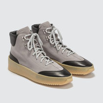 FEAR OF GOD Plain Toe Mountain Boots Unisex Suede Street Style Plain