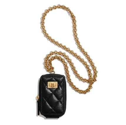 CHANEL 2.55 Clutch With Chain
