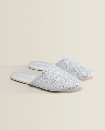 ZARA HOME Star Dots Casual Style Unisex Studded Shower Shoes Halloween