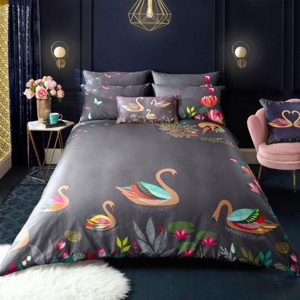 Flower Patterns Round Pillowcases Comforter Covers
