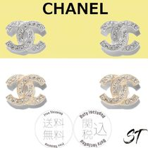 CHANEL Costume Jewelry Casual Style Party Style Elegant Style