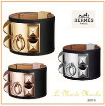 HERMES Collier de Chien Bangles Casual Style Unisex Party Style Elegant Style