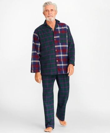 Tartan Cotton Loungewear Lounge & Sleepwear