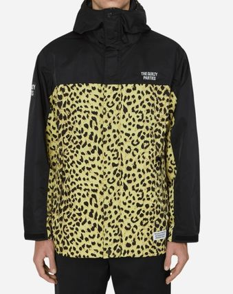 Leopard Patterns Windbreaker Jackets