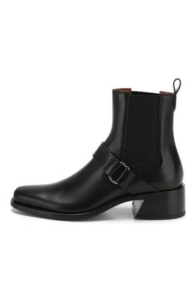 GIVENCHY Street Style Plain Leather Chelsea Boots Chelsea Boots
