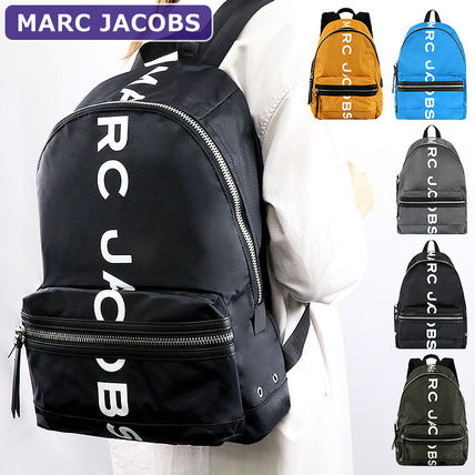 Logo Nylon A4 Office Style Backpacks