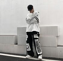Printed Pants Street Style Cotton Tribal Oversized