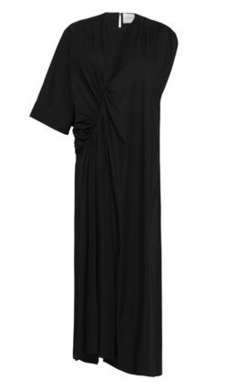 Maxi Plain Cotton Long Dresses