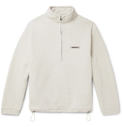 FEAR OF GOD Sweatshirts Unisex Street Style Logo Sweatshirts 2