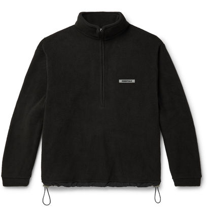 FEAR OF GOD Sweatshirts Unisex Street Style Logo Sweatshirts 12