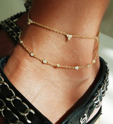 Casual Style Party Style Silver 14K Gold Elegant Style