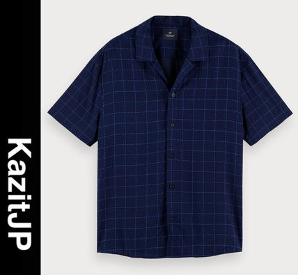 Other Plaid Patterns Short Sleeves Surf Style Shirts