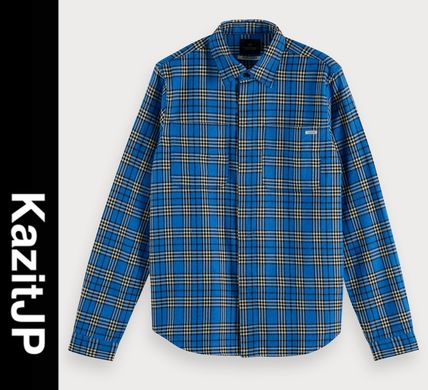 Other Plaid Patterns Long Sleeves Surf Style Shirts