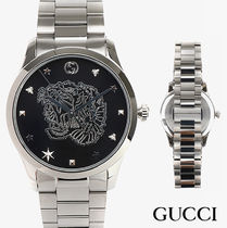 GUCCI Unisex Street Style Quartz Watches Analog Watches
