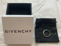 GIVENCHY Metal Logo Rings