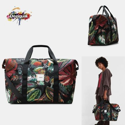 Flower Patterns Tropical Patterns Bag in Bag A4 2WAY