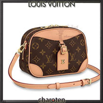 Louis Vuitton MONOGRAM Monogram Casual Style Calfskin Canvas Blended Fabrics