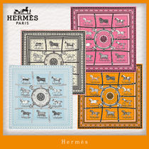HERMES Casual Style Silk Party Style Office Style Elegant Style