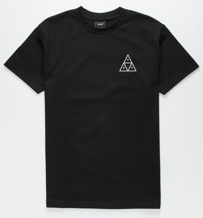 HUF More T-Shirts Street Style U-Neck Skater Style T-Shirts 2