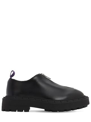 Eytys Plain Toe Unisex Leather Oxfords