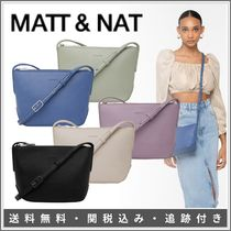 MATT&NAT Casual Style Suede Plain Leather Party Style Elegant Style