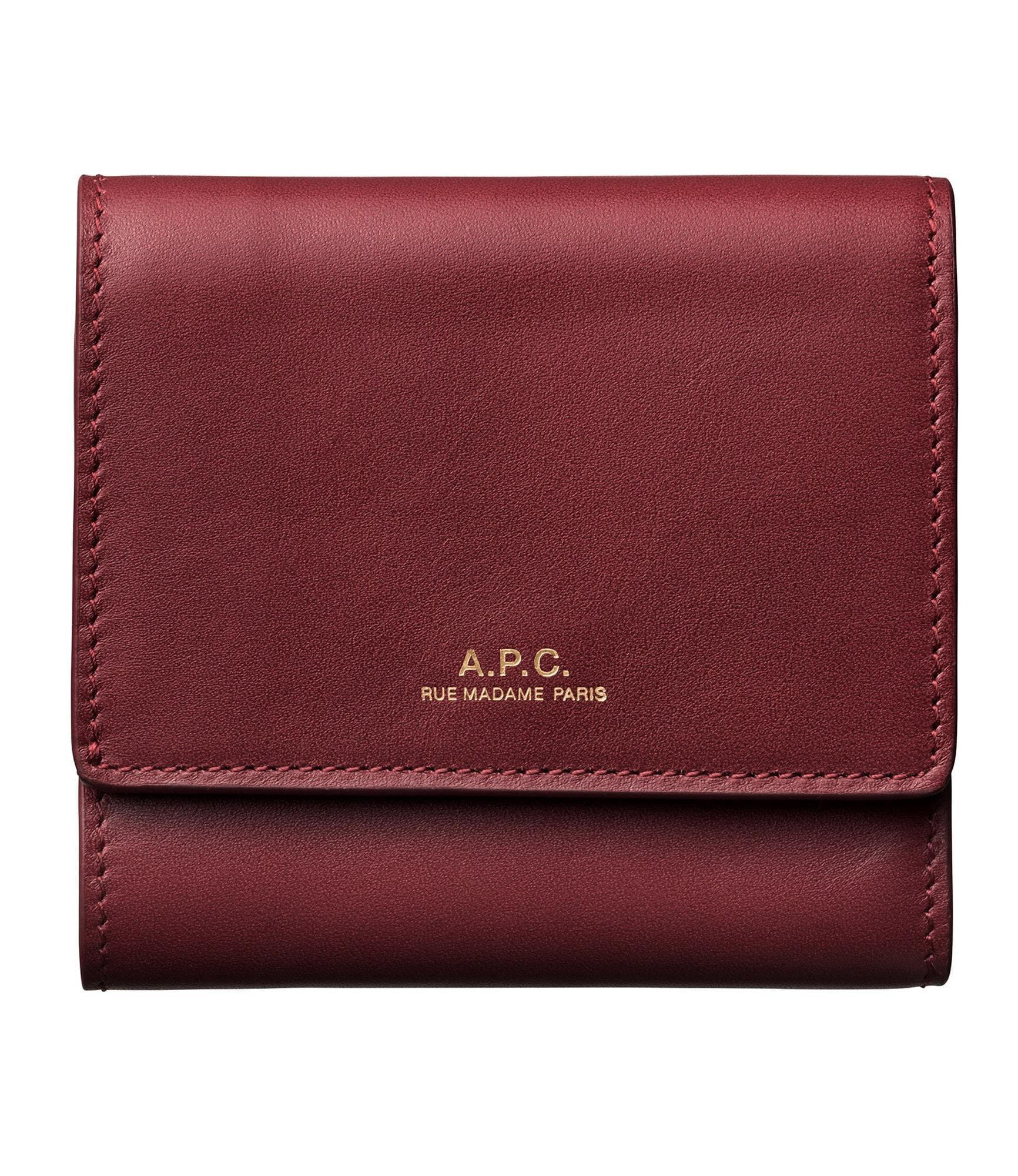 shop a.p.c. wallets & card holders
