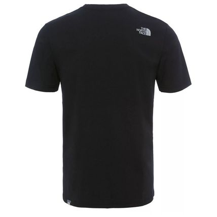 THE NORTH FACE More T-Shirts Stripes Unisex U-Neck Cotton Short Sleeves Outdoor T-Shirts 3