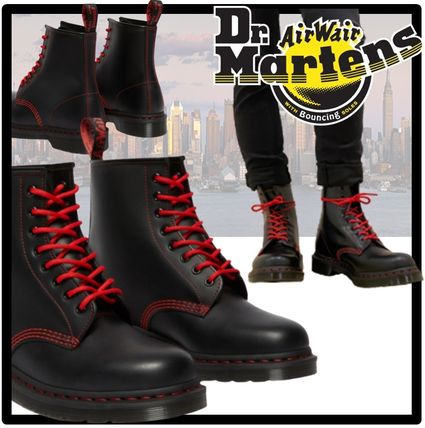 Dr Martens Unisex Street Style Boots
