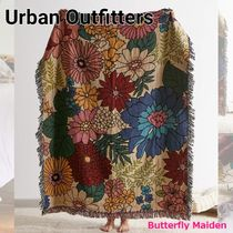 Urban Outfitters Flower Patterns Unisex Street Style Fringes Throws