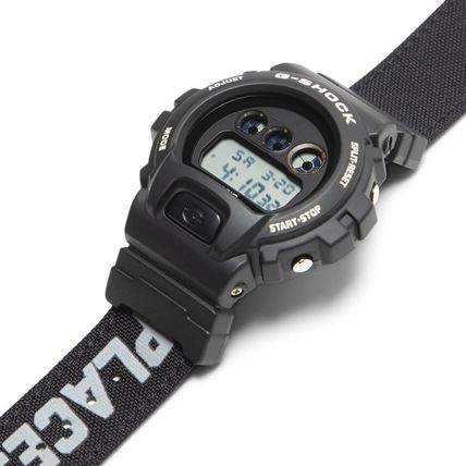 Street Style Collaboration Digital Watches