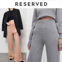 RESERVED Casual Style Plain Long Office Style Formal Style