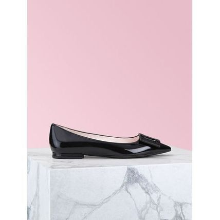 Roger Vivier Casual Style Plain Leather Party Style Office Style