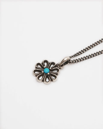 KUJAAN Necklaces & Pendants Casual Style Unisex Blended Fabrics Flower Street Style 3