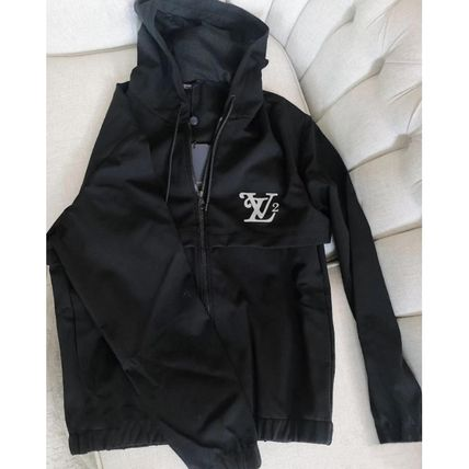 Louis Vuitton Squared Lv Zipped Hood Blouson
