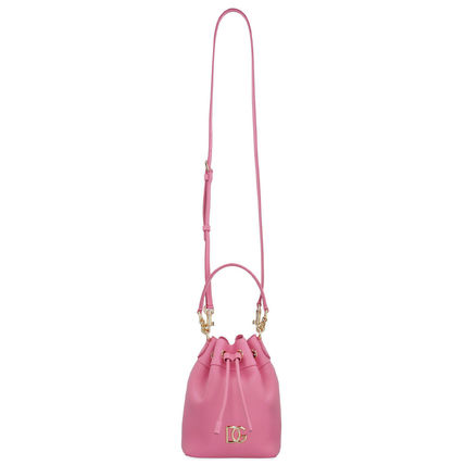 Dolce & Gabbana Casual Style Calfskin 2WAY Plain Leather Party Style Purses