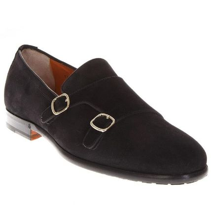Suede Leather Oxfords